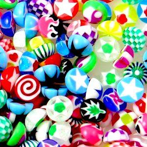 tiny komponenty pro výrobu kaleidoskopů